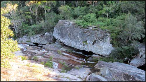 Cachoeira Shangri-lá em São Thomé das Letras MG