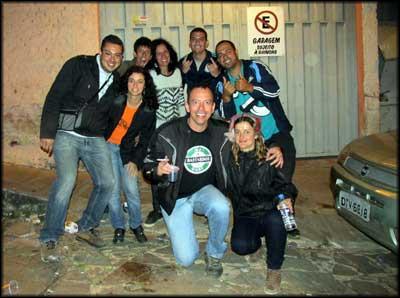 novos amigos em São Thomé das Letras MG