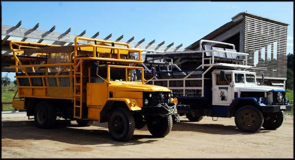 Caminhões 4x4 Cabo Polonio